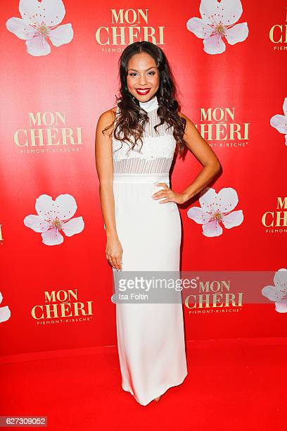German moderator attends the Mon Cheri Barbara Tag at Postpalast on December 2 2016 in Munich Germany