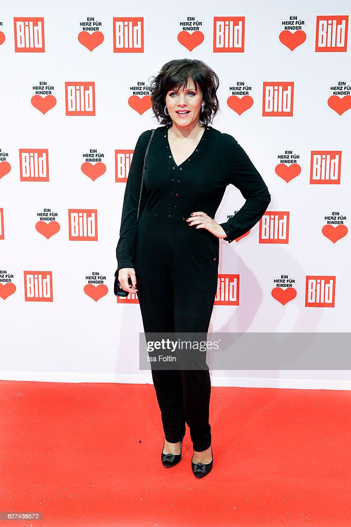 German moderator Birgit Schrowange attends the Ein Herz Fuer Kinder gala on December 3, 2016 in Berlin, Germany.