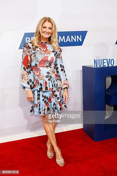 German moderator Frauke Ludowig attends the Bertelsmann Summer Party at Bertelsmann Repraesentanz on September 8 2016 in Berlin Germany