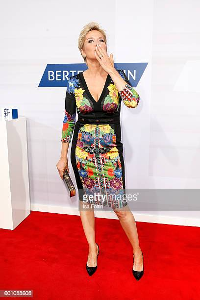 German moderator Inka Bause attends the Bertelsmann Summer Party at Bertelsmann Repraesentanz on September 8 2016 in Berlin Germany