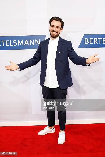 German moderator Jan Koeppen attends the Bertelsmann Summer Party at Bertelsmann Repraesentanz on September 8, 2016 in Berlin, Germany.