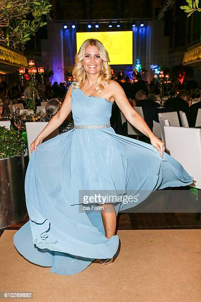 German moderator Jennifer Knaeble attends the7th VITA Charity Gala in Wiesbaden on September 24 2016 in Wiesbaden Germany