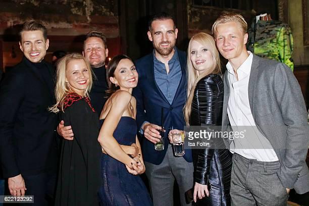 German moderator Nova Meierhenrich, german actress Nadine Warmuth, Bastian Ammelounx, CEO La Martina Germany, former football player Christoph...