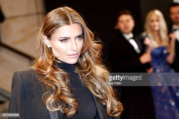 German moderator Sophia Thomalla attends the GQ Men of the year Award 2016 at Komische Oper on November 10 2016 in Berlin Germany