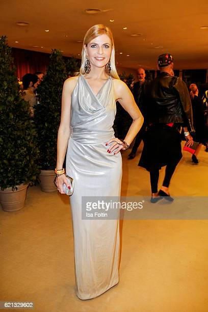 German moderator Tanja Buelter attends the 23rd Opera Gala at Deutsche Oper Berlin on November 5 2016 in Berlin Germany