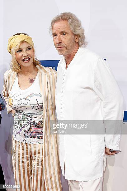 German moderator Thomas Gottschalk and his wife Thea Gottschalk attend the Bertelsmann Summer Party at Bertelsmann Repraesentanz on September 8 2016...