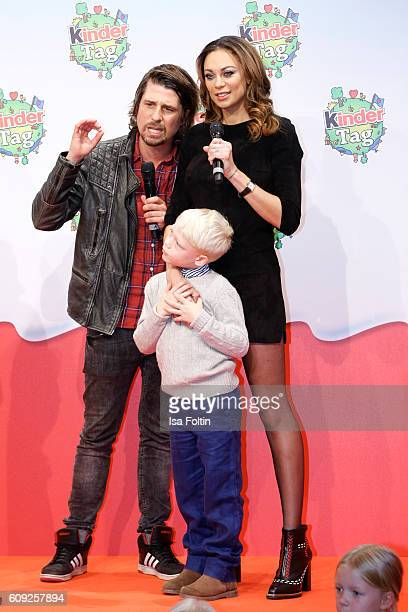 German moderator Tommy Scheel Lilly Becker and her son Amadeus Becker attend the KinderTag to celebrate children's day on September 20 2016 in...