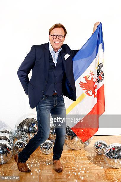 German moderator Wolfgang Lippert, starting for Mecklenburg-West Pomerania, attends the 'Deutschland tanzt' photo call at Soho House on October 27,...