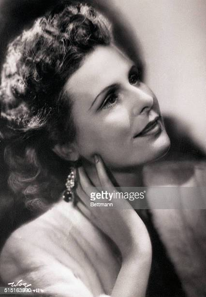 German motion picture director and actress Leni Riefenstahl.