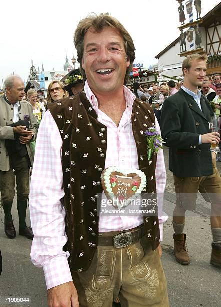 German Musican Patrick Lindner arrives at the Oktoberfest opening party on September 16 2006 in Munich Germany The 173rd Oktoberfest for years the...