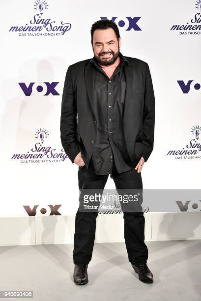 German musician Hartwig Schierbaum alias Marian Gold during the press conference to the TV Show 'Sing meinen Song' on April 9 2018 in Berlin Germany