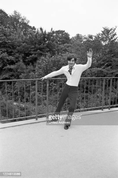 German musician Oliver Freytag, Germany, 1960s.