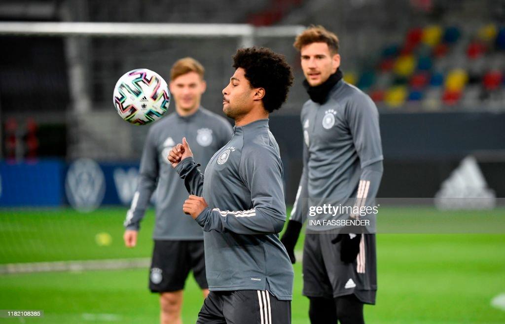 FBL-EURO-2020-GER-QUALIFIER-TRAINING : News Photo