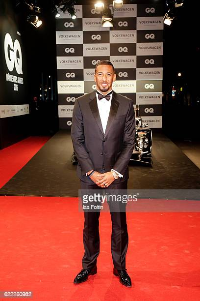 German national soccer player Jerome Boateng attends the GQ Men of the year Award 2016 at Komische Oper on November 10 2016 in Berlin Germany