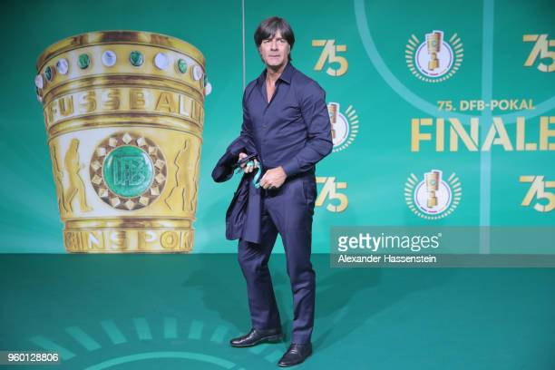 German national team head coach Joachim Loew poses for a photograph prior to the DFB Cup Final 2018 between Bayern Muenchen and Eintracht Frankfurt...