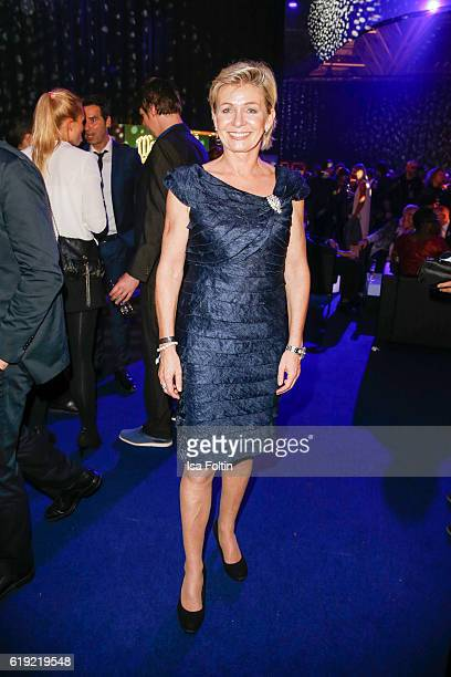 German national woman football team trainer Silvia Neid during the Goldene Henne after show party on October 28 2016 in Leipzig Germany
