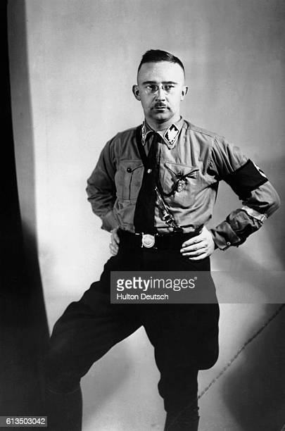 German Nazi leader and chief of police Heinrich Himmler in 1933