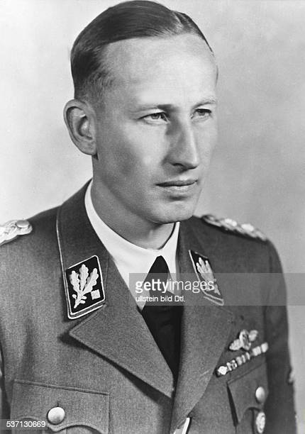 German Nazi officer and chief of the Gestapo. Photograph, 1941-42.