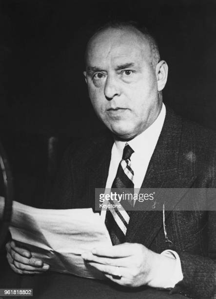 German Nazi Party politician Gregor Strasser circa 1928 He was murdered during the Night of the Long Knives