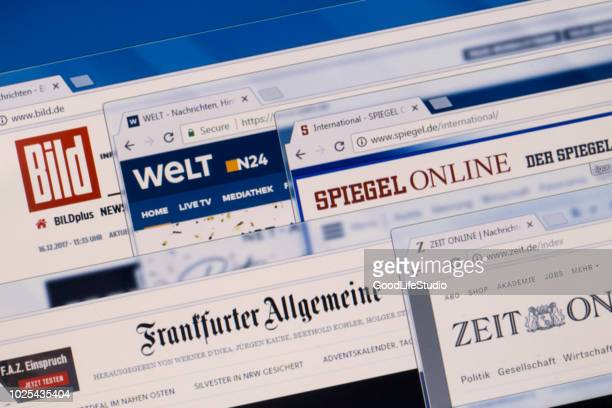 german news - news event stock pictures, royalty-free photos & images