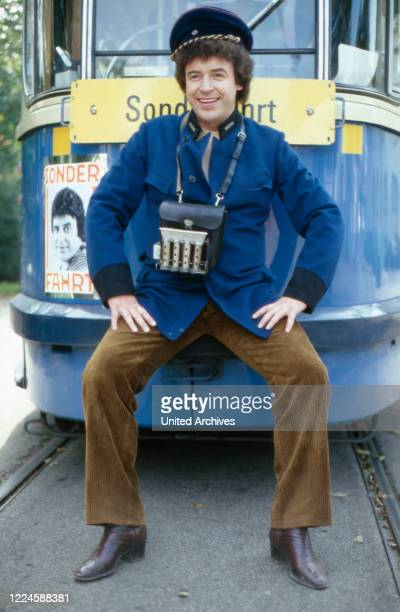 German opera and schlager singer Tony Marshall, Germany, 1970s.