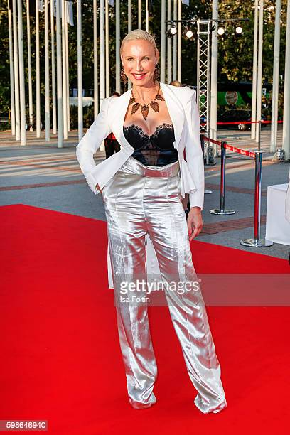 German opera singer Nadja Michael attends the IFA 2016 opening gala on September 1 2016 in Berlin Germany