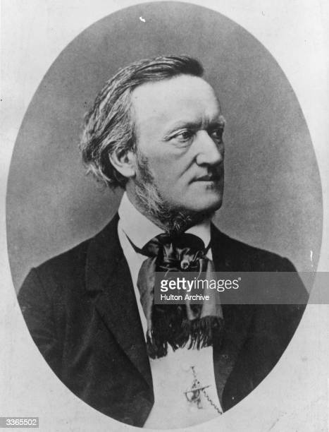 German operatic composer Wilhelm Richard Wagner