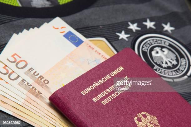 Deutschen Pass für den World cup