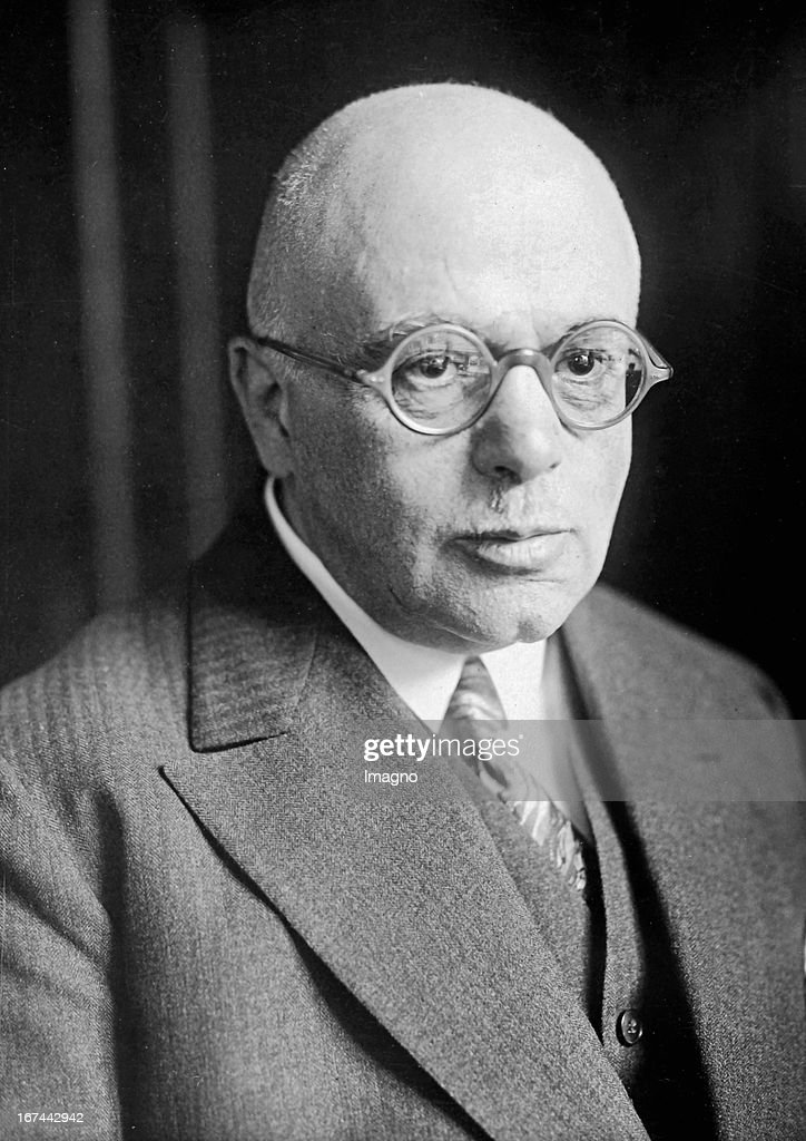 German pathologist Ludwig Pick (1868-1944). 1928. Photograph. (Photo by Imagno/Getty Images) Der deutsche Pathologe Ludwig Pick (18681944). 1928. Photographie.