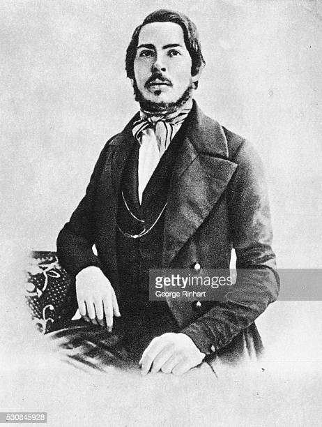 German philosopher Friedrich Engels at the age of 25, 1845.
