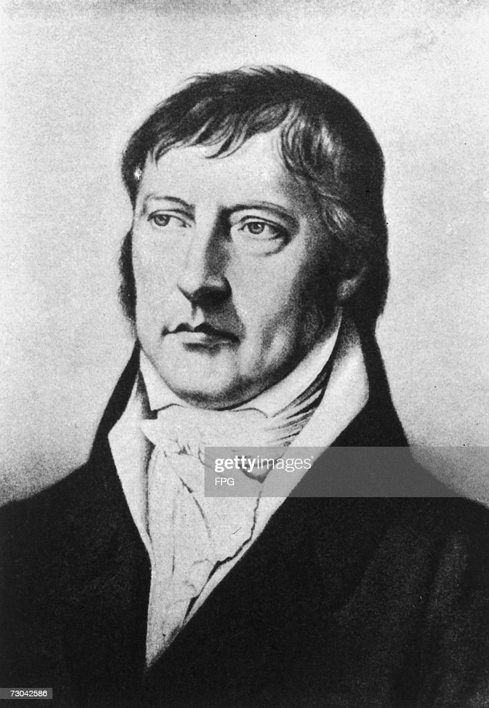 Georg Wilhelm Friedrich Hegel : News Photo