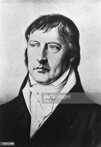 German philosopher Georg Wilhelm Friedrich Hegel circa 1810