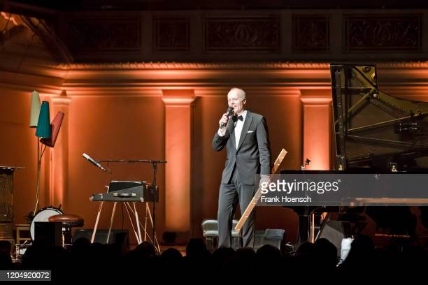 German pianist Joja Wendt performs live on stage during a concert at the Konzerthaus on February 8 2020 in Berlin Germany