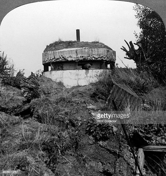 German pillbox Bullecourt France World War I 1917 Bullecourt was the scene of fierce fighting during the Battle of Arras in the spring of 1917...