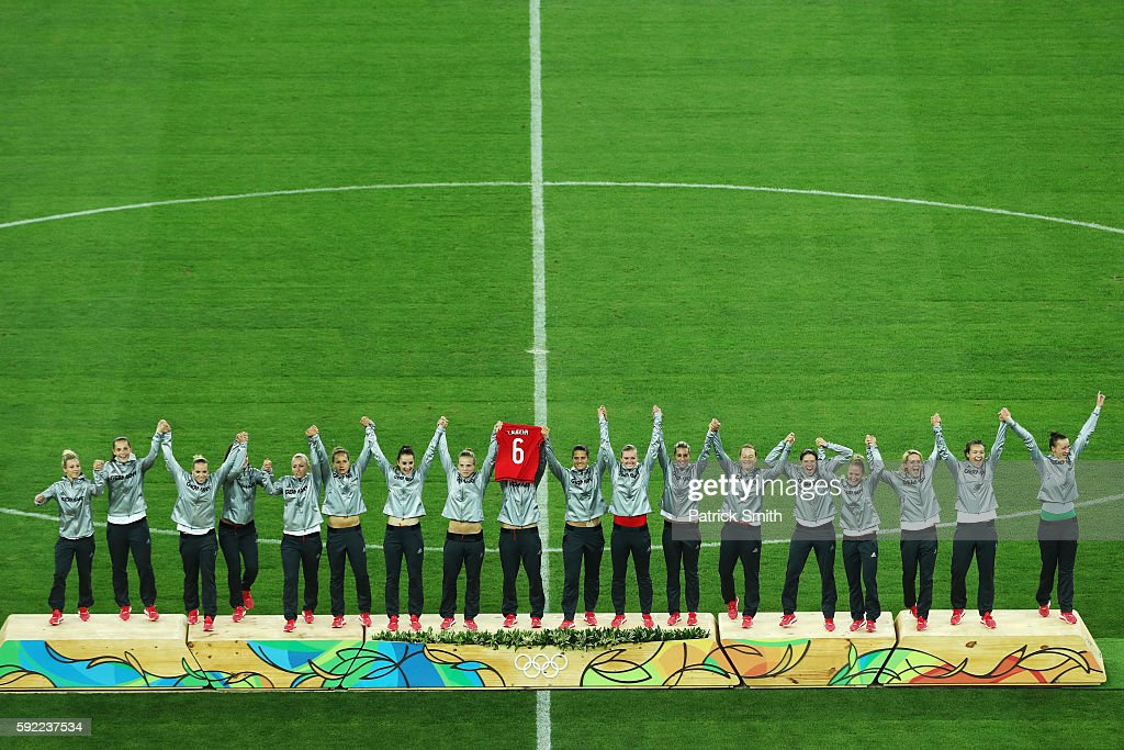 Sweden v Germany: Women's Football - Olympics: Day 14 : News Photo