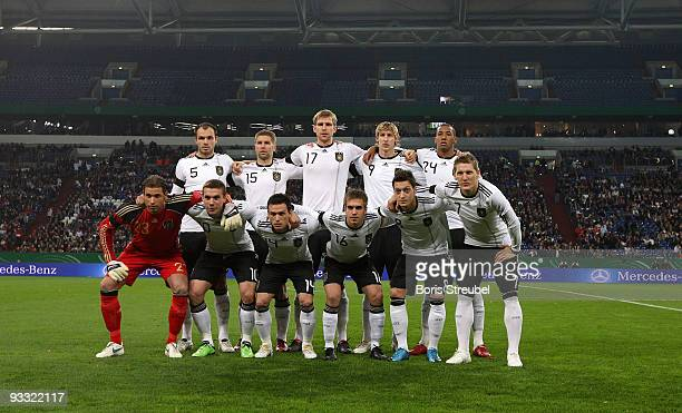 German players Heiko Westermann, Thomas Hitzlsperger, Per Mertesacker, Stefan Kiessling, Jerome Boateng, Tim Wiese , Lukas Podolski, Piotr...