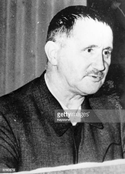 German playwright and poet Bertolt Brecht