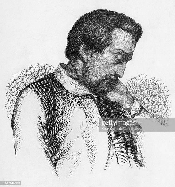 German poet Heinrich Heine circa 1830