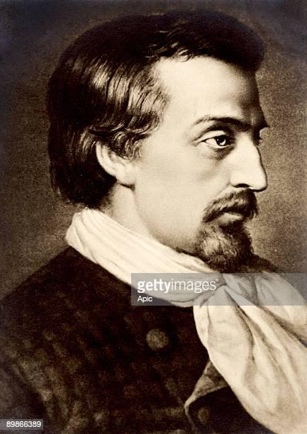 german poet Heinrich Heine engraving