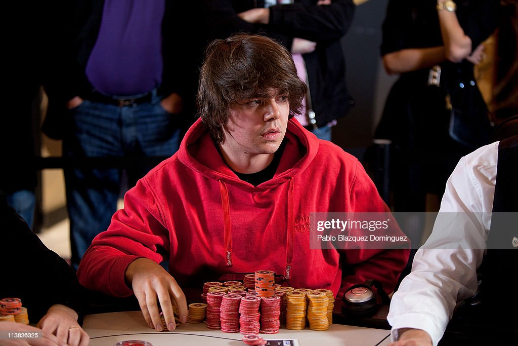 German poker player Benny Spindler plays at the European Poker Tour 2011 in the Casino Gran Madrid on May 7, 2011 in Torrelodones, Spain.