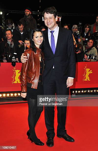German politican Philipp Missfelder and wife AnnChristin attend the 'Margin Call' Premiere during day two of the 61st Berlin International Film...