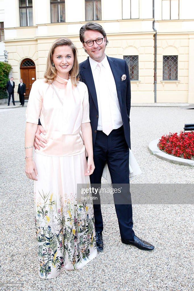 Opera Gala With Jonas Kaufmann - Thurn & Taxis Castle Festival 2016 : News Photo