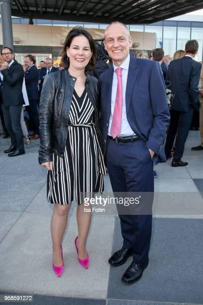 German politician Annalena Baerbock and Wolfgang Krach, chief editor Sueddeutsche Zeitung during the 13th Long Night of the Sueddeutsche Zeitung at...