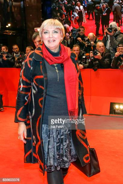 German politician Claudia Roth attends the 'Return to Montauk' premiere during the 67th Berlinale International Film Festival Berlin at Berlinale...