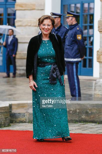 German politician Emilia Mueller attends the Bayreuth Festival 2017 Opening on July 25 2017 in Bayreuth Germany