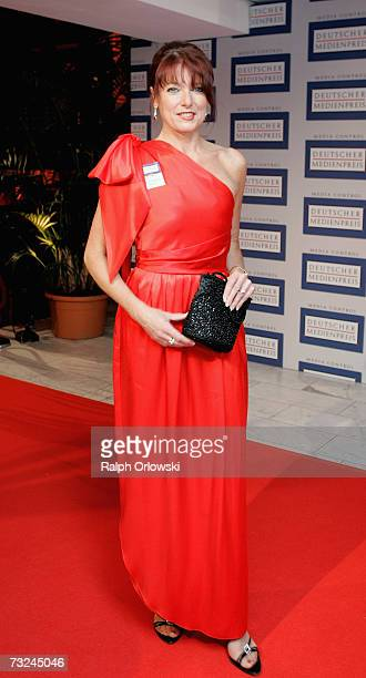 German politician Gabriele Pauli arrives at the 15th German Media Award 2006 at the Congress Hall on February 7 2007 in BadenBaden Germany