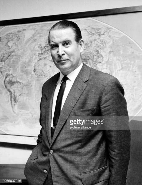 German politician Gerhard Schröder of the Christian Democratic Union of Germany Schröder was Germany's Interior minister from 1953 to 1961 Minister...