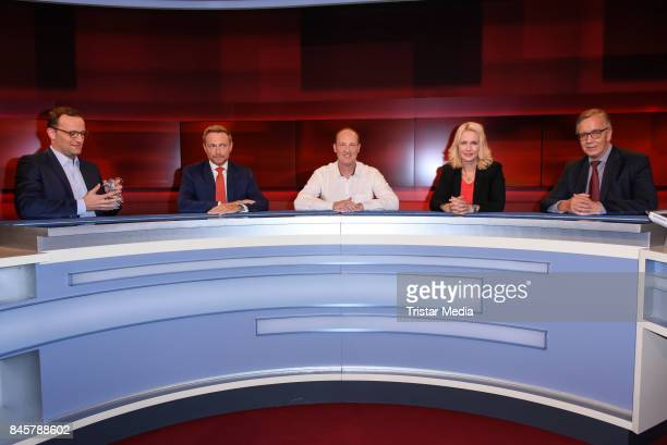 German politician German politician Jens Spahn German politician Christian Lindner Alexander Tappert entertainer singer and presenter German...