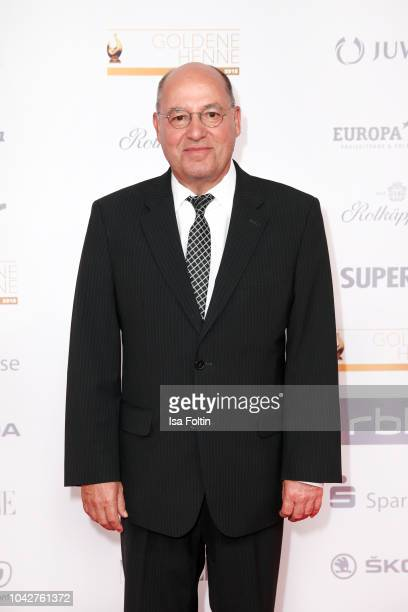 German politician Gregor Gysi during the Goldene Henne on September 28 2018 in Leipzig Germany