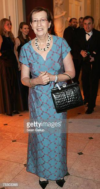 German politician Heide Simonis attends the Cinema for Peace Charity Gala on 12 February 2007 in Berlin Germany The gala is traditionally held during...